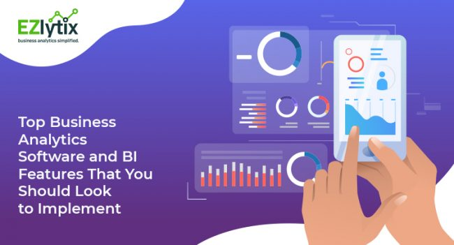 Top Business Analytics Software and BI Features